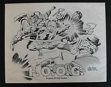 F.O.O.G. - FRIENDS OF OLD GERBER-PRINTS-KIRBY, BARRY SMITH, KALUTA. WRIGHTSON