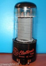GE 6V6 GTA Vacuum Tube 1963 Very Strong  Results = 4610 µmhos 49 mA