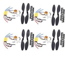 4X A2212 1000KV Brushless Motor w/30A ESC 1045 Propeller for DJI F450 F550 R1Z1