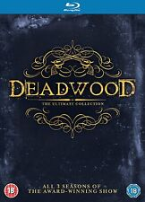 Deadwood The Complete Series Ultimate Collection HBO Blu-Ray Set New Region Free