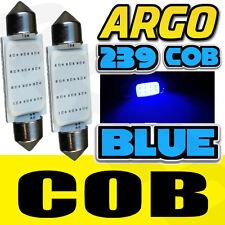 2X renault clio MK3 2.0 239 C5W bleu intérieur boîte à gants ampoule led upgrade éclairage