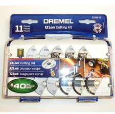 DREMEL 11 pc EZ LOCK MANDREL FIBER CUTTING CUT OFF WHEEL SET ROTARY MULTIPURPOSE