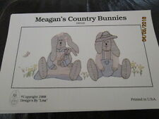 New Shadow Embroidery Sewing Patterns Heirloom  - MEAGAN'S COUNTRY BUNNIES