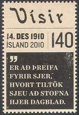 """Islandia 2010 """"visir""""/periódico/news/Impresión/comunicación/Business 1v (n42495)"""