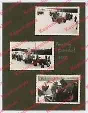 or. Fotos Faschingszug Riedering Persdorf Allgaier-Traktor Auto Willys Jeep 1955