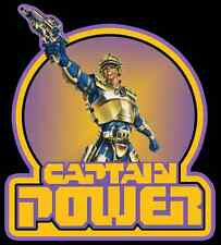 80's Kids Sci-Fi TV Classic Captain Power custom tee Any Size Any Color