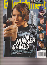 ENTERTAINMENT WEEKLY MAGAZINE #1197 Mar 2012, THE HUNGER GAMES JENNIFER LAWRENCE