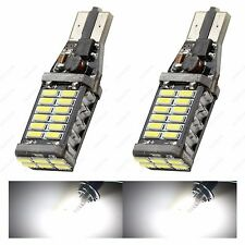 2XT15 CanBus 15W  White 1500LM SMD 4014 LED Back up Reverse Light 921 922 939