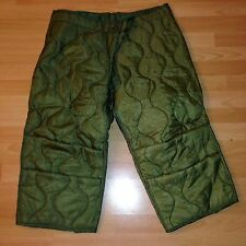 US Army Field-Trouser Liner M65 Pants OG106 Cold Weather Trouser Hose Futter