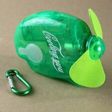 Portable Mini Water Spray Cool Fan Mist Sport Beach Camp Travel with Carabiner