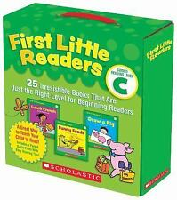 First Little Readers Parent Pack: Guided Reading Level C : 25 Irresistible...