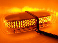 Yellow Amber Emergency Hazard 240 LED Light Bar Roof Top Warning Flash Strobe