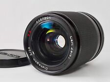 RARE CONTAX Carl Zeiss Distagon 28mm F/2 2.0 T MMG Wide Angle MF Lens from Japan