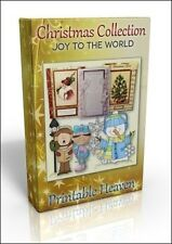 Card-making Dvd-Joy To The World colecta de Navidad. Brillante valor!