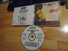 RARE PROMO UB40 CD Tell Me Is It True mix SPEED 2 soundtrack Guns In the Ghetto