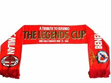 BENFICA vs AC MILAN SCARF THE LEGENDS CUP (Tribute to EUSEBIO) 2014 Collectable