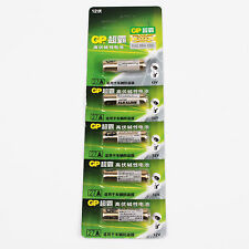 New Card of 5 pieces GP 27A (MN27) High Voltage Battery For LED Panasonic