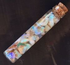 Opal Crystals Rocks Minerals, Hydrated Quartz In A Bottle