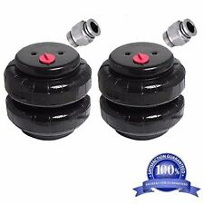 "Air Ride Suspension Air Bags Standard 2500 1/2""npt Kit Replacement Part Fittings"