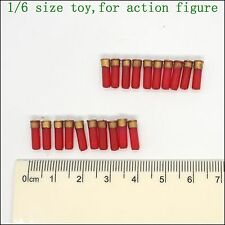 L42-07 1/6 scale action figure red Shotgun bullets *20