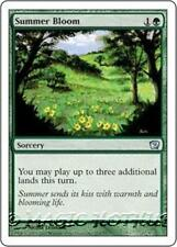 SUMMER BLOOM Ninth Edition MTG Green Sorcery Unc