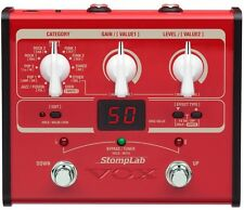 VOX StompLab SL1B Modeling Bass Guitar Multi-Effects Pedal