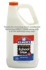 Elmers Washable School GLUE GALLON Craft All Multi Purpose white elmer's slime