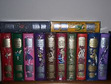 Folio Society ANDREW LANG'S Rainbow Fairy books in 12 vols