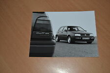 PHOTO DE PRESSE ( PRESS PHOTO ) Volkswagen Golf GL Syncro de 1994 VW382