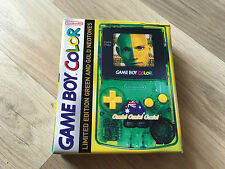 NINTENDO GAME BOY OZZIE OZZIE OZZIE GREEN AND GOLD NEONTONES LIMITED EDITION
