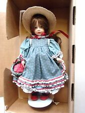 """Anne of Green Gables"" by Robin Woods Doll 1986 in Original Box 14"" Doll #27"