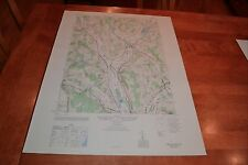 New York vintage 1940's Army topographic map,  Hamilton  New York