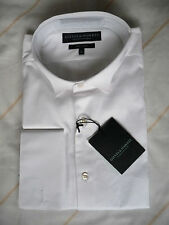 "Gieves & Hawkes Brand New Waffle Bib White Marcella Dress Shirt 16"" RRP £325"