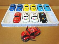 1:32 SCALE 1967 VW CLASSIC BEETLE  WITH DECALS COLOR RED SUNNYSIDE LTD