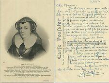 CARTE POSTALE ANCIENNE - MARIE STUART : REINE DE FRANCE QUEEN / POSTCARD