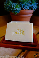 Handmade Cold Process 72% Olive Marseille Soap (Unscented)