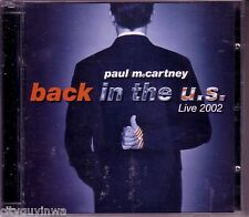 PAUL McCARTNEY Back in the U.S. Live 2002 Collection Beatles Oldies Rock & Roll