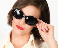 50s 60s surdimensionné vintage noir lunettes de soleil-jackie o, 50s 60s mod sungalsses