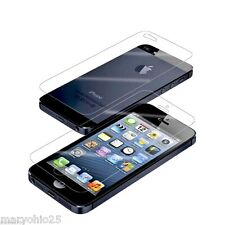 Lot 12 Pcs Front + Back Screen Protector Clear LCD Guard for iPhone 5 5S 5C
