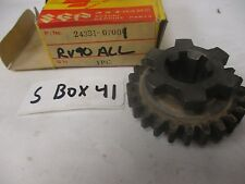 NOS Suzuki A100 RV90 Third Driven Gear 24331-07001