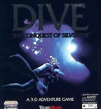 Unknown Dive the Conquest of Silvereye 3-d Adventure Game Video Games