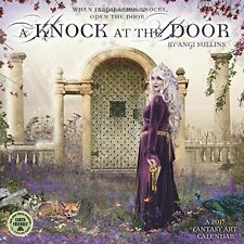 A Knock at the Door 2017 Fantasy Art Wall by Angi Sullins [Arts] [Calendar] C17