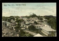 West Africa Gold Coast Colony AXIM Upper Town used 1900s PPC