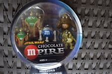 Star Wars Chocolate Mpire Figures Queen Amidala C-3PC R2D2 Toy M & M Collectible