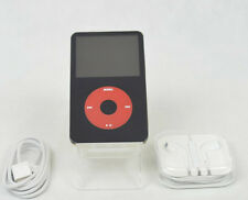 Apple iPod Classic 5th Generation Black + Red (60 GB) + Accesories, MINT