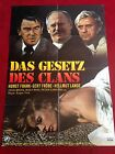 Das Gesetz des Clans Kinoplakat A1 Gert Fröbe, Helmut Lange, Heidi Brühl