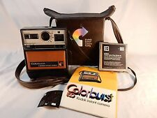 Vintage Kodak Colorburst 100 Instant Camera with Matching Case
