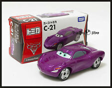 Tomica Disney C-21 CARS 2 HOLLEY SHIFTWELL TOMY DIECAST CAR TAKARA