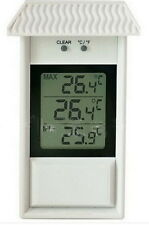 LCD Digital waterproof outdoor thermometer high-low-memory garden thermometer