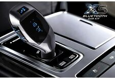 wireless Car FM Transmitter with Bluetooth Hands-free MP3 Player LCD Display X5